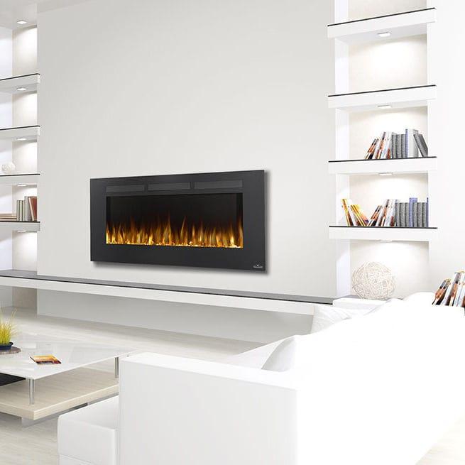Elektrischer Kamin / Modern / Geschlossene Feuerstelle / Wandmontiert    NEFL50FH