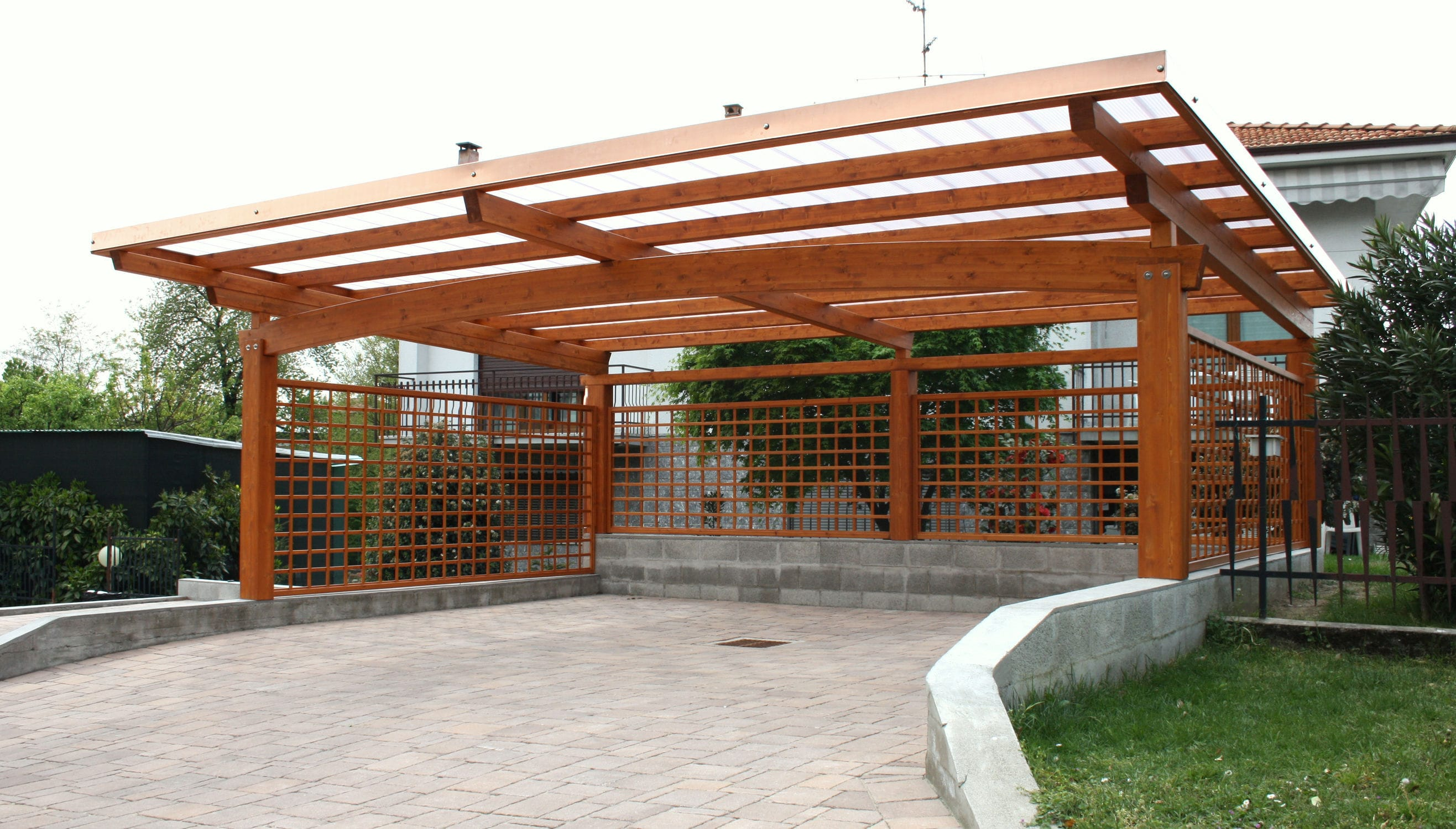 Holz carport carport proverbio outdoor design