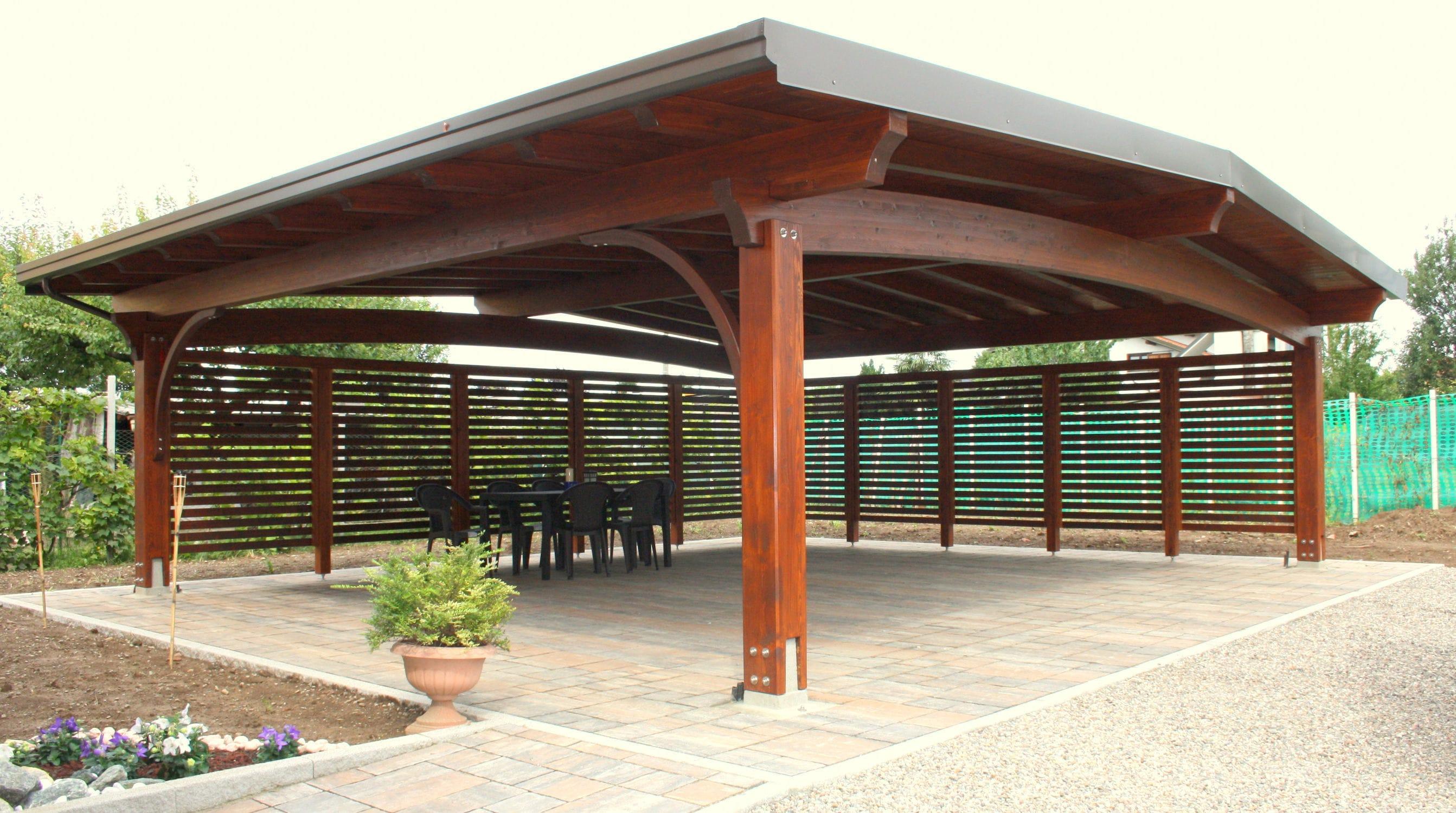 Holz-Carport - ARCO - Proverbio Outdoor Design
