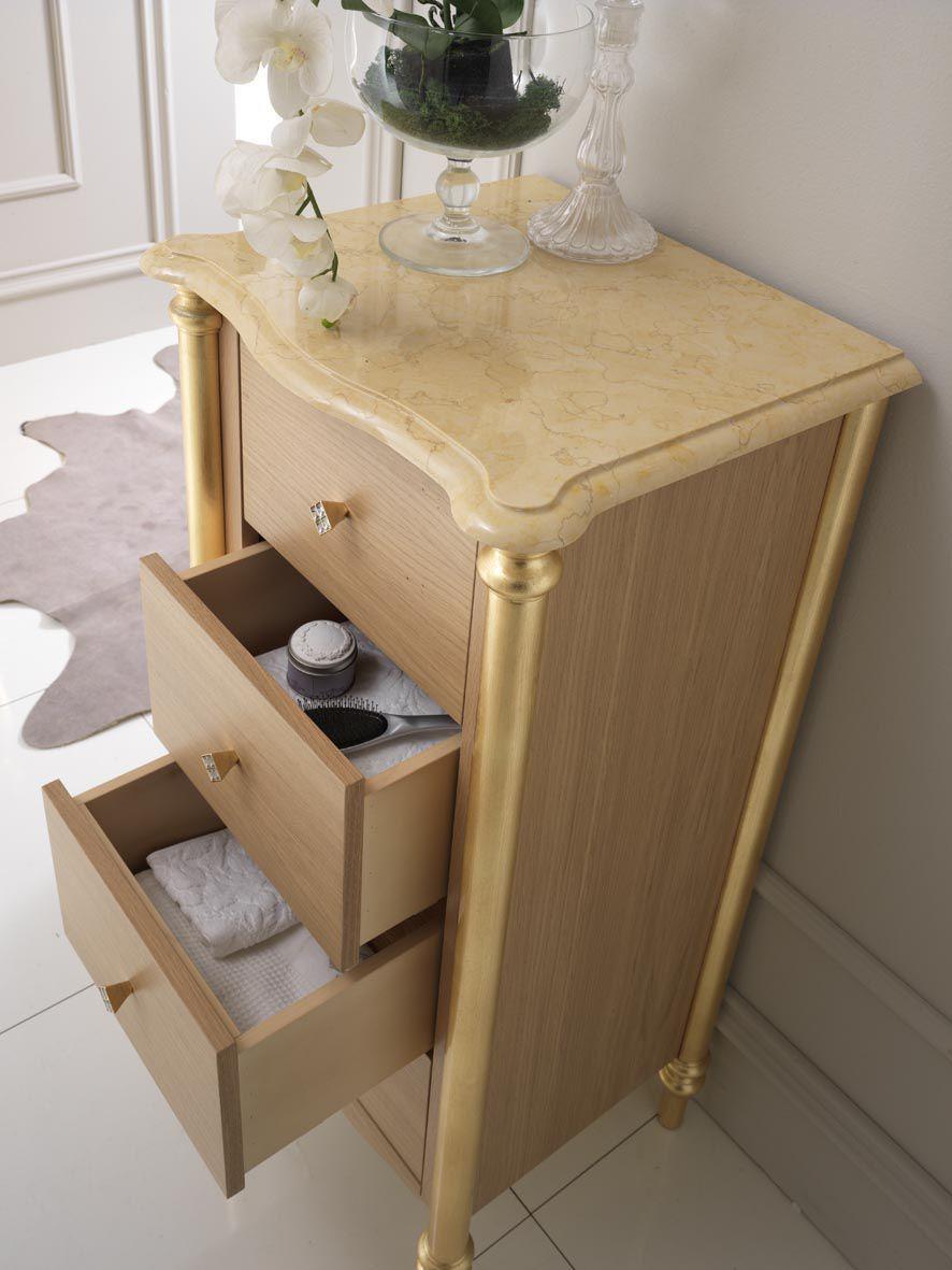 klassische badezimmer / aus massivholz - sinforosa - finitura