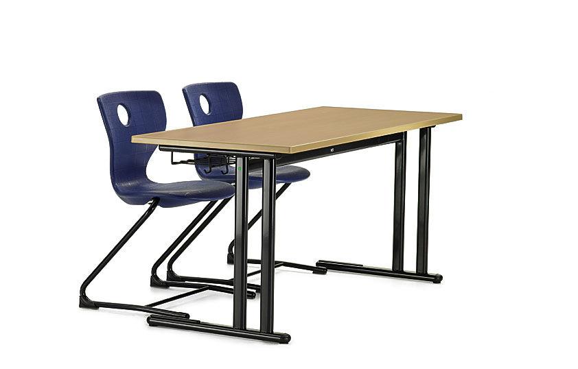 Tisch schule  Moderner Tisch / Metall / rechteckig / für Schulen - DUO-C - VS