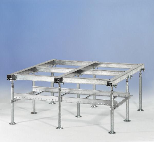 Doppelboden Unterkonstruktion Stahl Innenraum K 1060 Pb Kalthoff