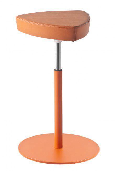 Barhocker Orange moderner barhocker metall höhenverstellbar orange kensho