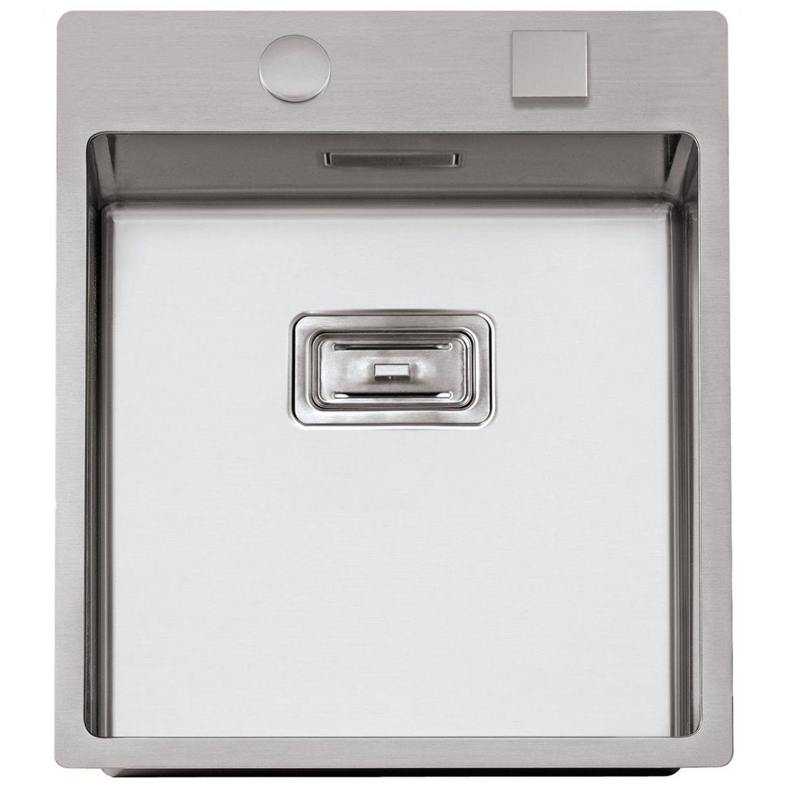 Spüle / 1 Becken / Edelstahl - BOX LUX 46 - RODI - Sinks