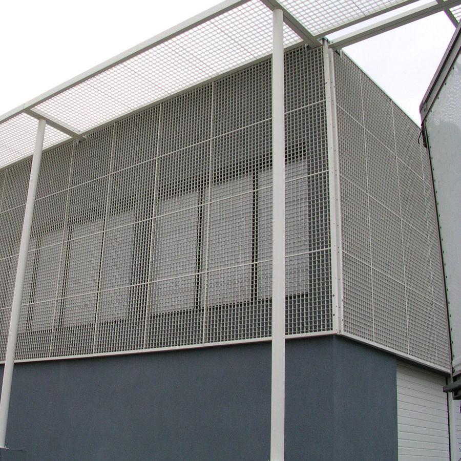 Metall-Geflecht / für Fassaden / Aluminium / Edelstahl - PRESS ...