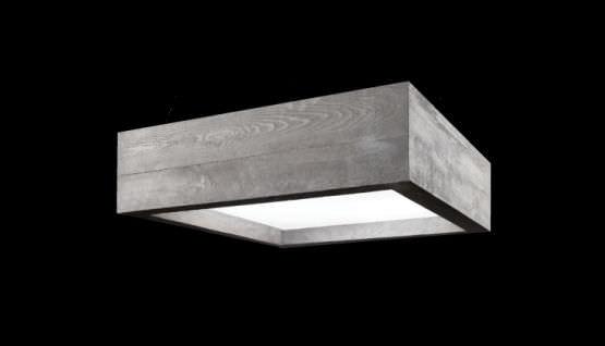 Plafoniere Moderne Rettangolari : Moderne deckenleuchte rechteckig aus pmma led icementi