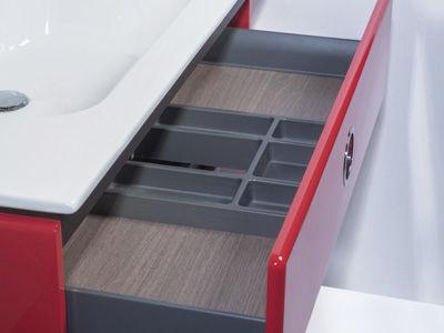 Waschtischunterschrank freistehend  Hängend-Waschtischunterschrank / freistehend / Holz / modern ...