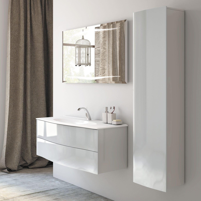 Hängend-Waschtischunterschrank / Holz / modern / Kit - EPURE - DECOTEC | {Waschtischunterschrank hängend 63}
