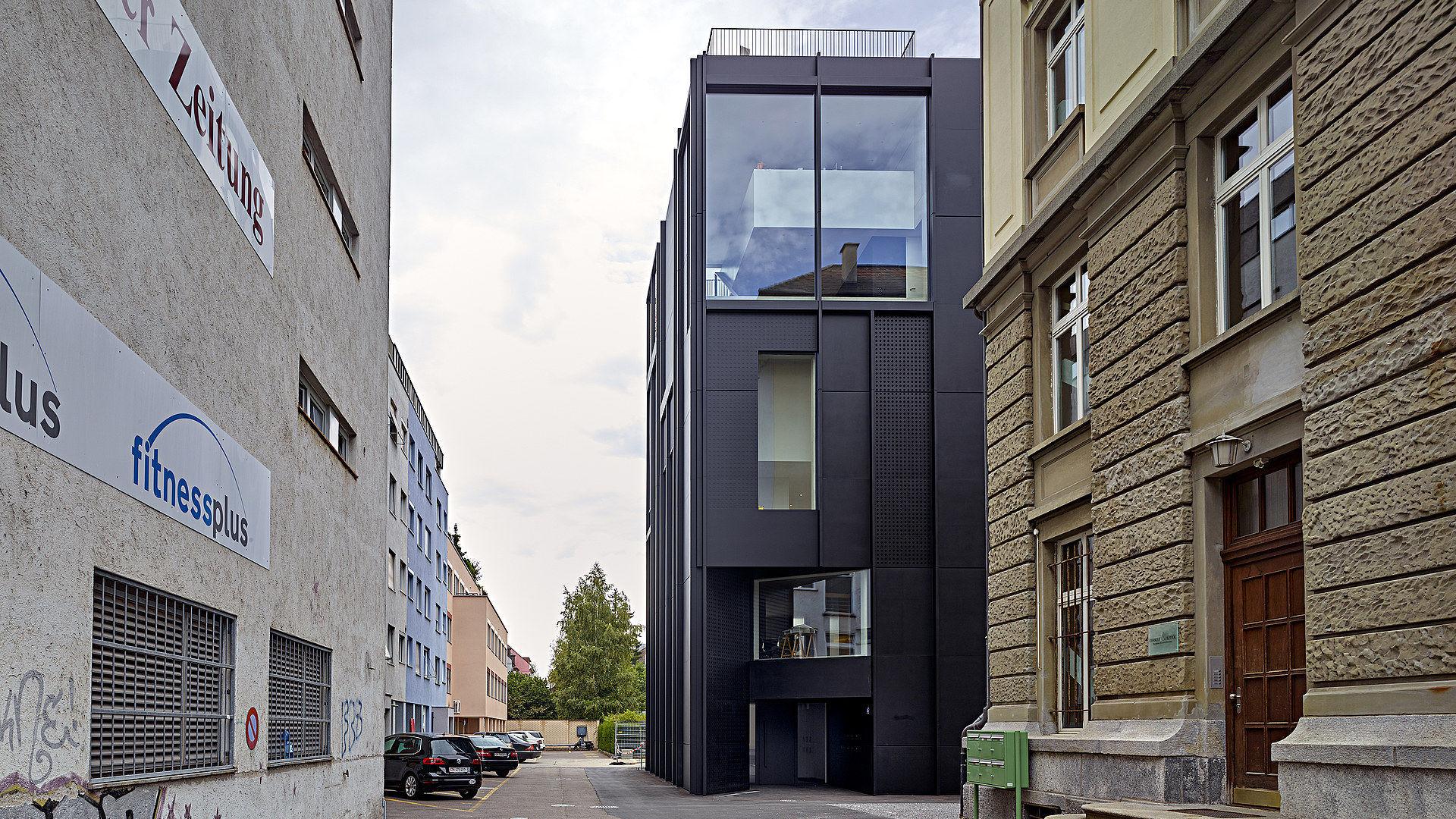 Beeindruckend Fassade Mit Blech Verkleiden Sammlung Von Blech-fassadenverkleidung / Matt / Platten / Für