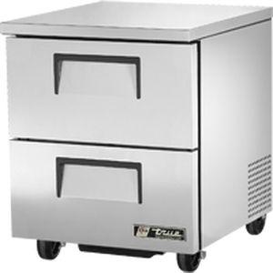 Kühlschrank Für Professionellen Gebrauch / Schubladen / Edelstahl    TUC 27D 2