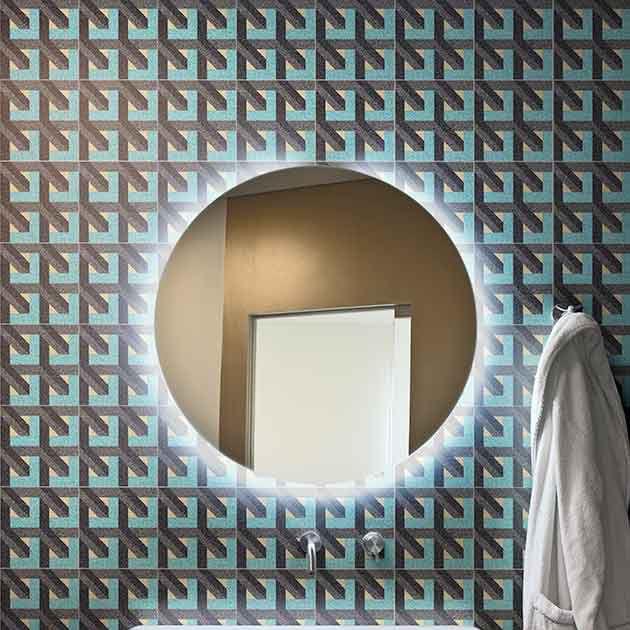 Fliesen Fur Badezimmer Wand Fur Boden Mamorgranulat 3d