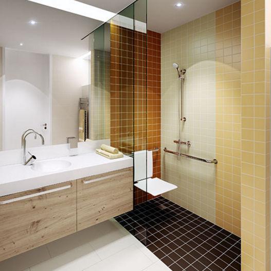 Außenbereich-Fliesen / für Badezimmer / Wand / für Fußböden ...