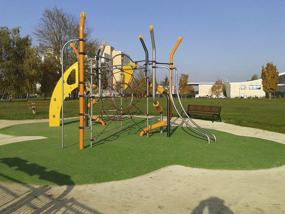 Klettergerüst Stahl : Klettergerüst für spielplätze vertigo park jvx husson