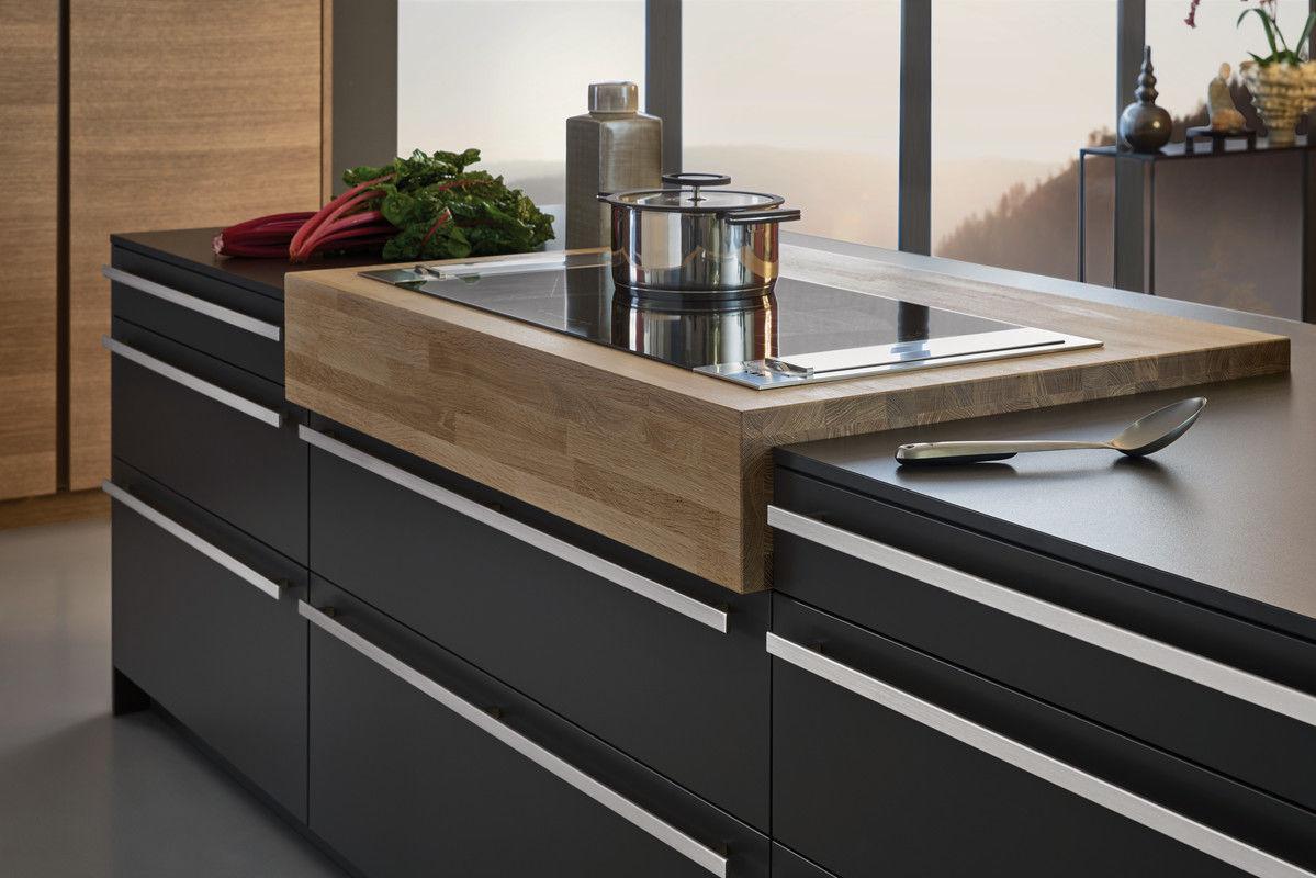 moderne küche / laminat / kochinsel / matt - bondi - leicht - videos - Leicht Küchen Katalog