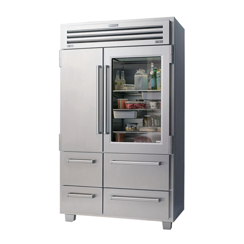 Kühl Gefrierschrank / für Privatgebrauch / amerikanisch / Schubladen ...