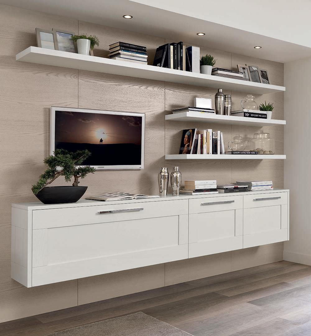 Wandmontiertes Sideboard / modern / Holz GALLERY CUCINE LUBE