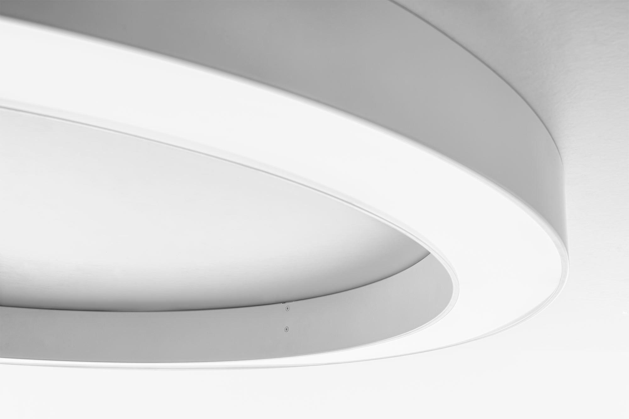 Großartig Deckenlampe Led Rund Beste Wahl Moderne Deckenleuchte / / Aus Polycarbonat /