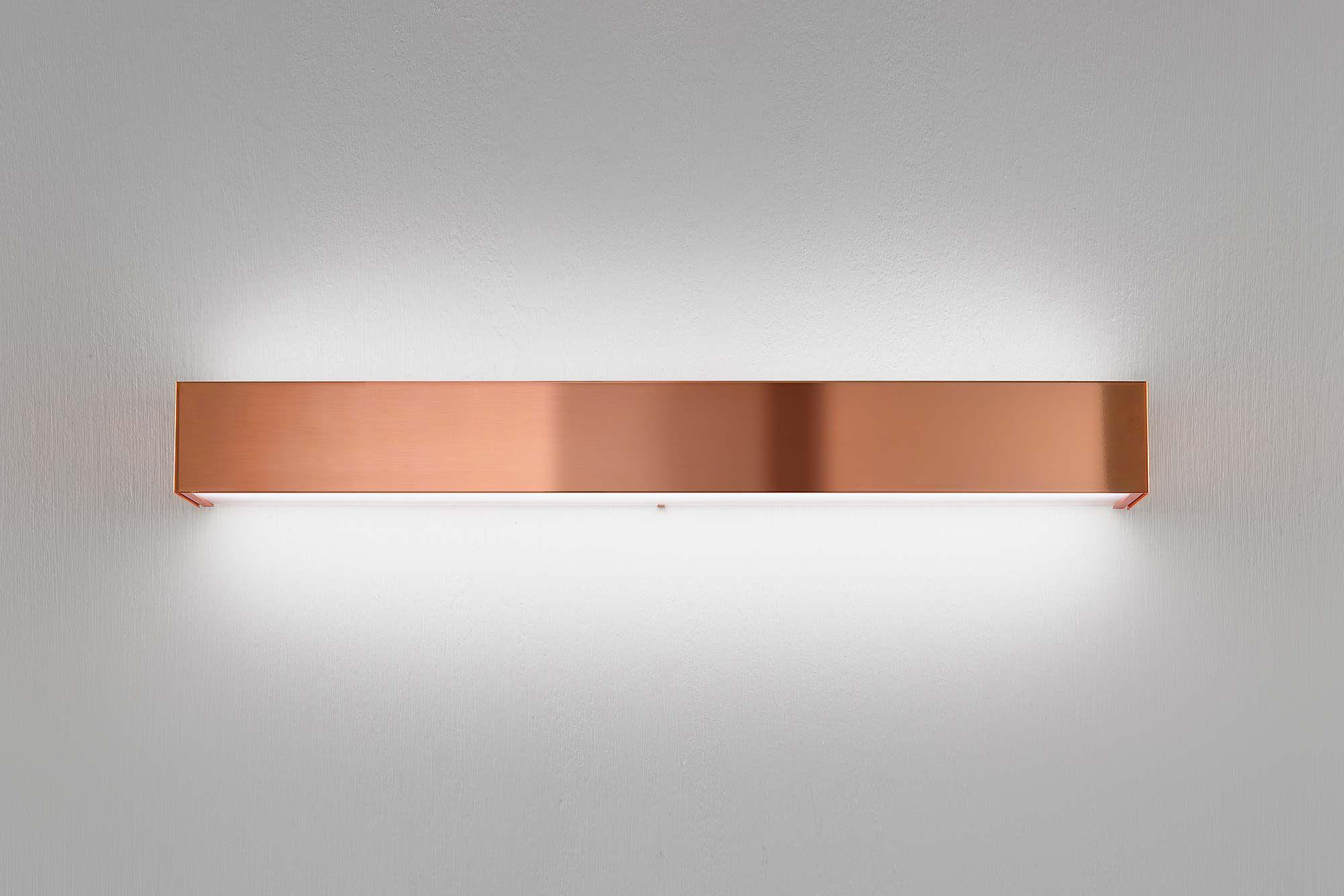 Moderne Wandleuchte / für Badezimmer / Edelstahl / LED - TOY - PANZERI