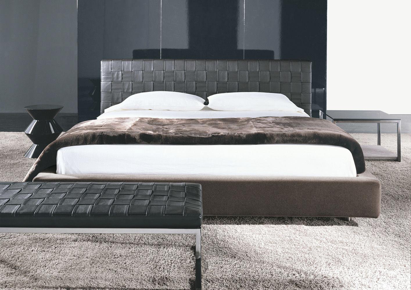 Doppelbett / standard / modern / leder   bartlett by gordon ...