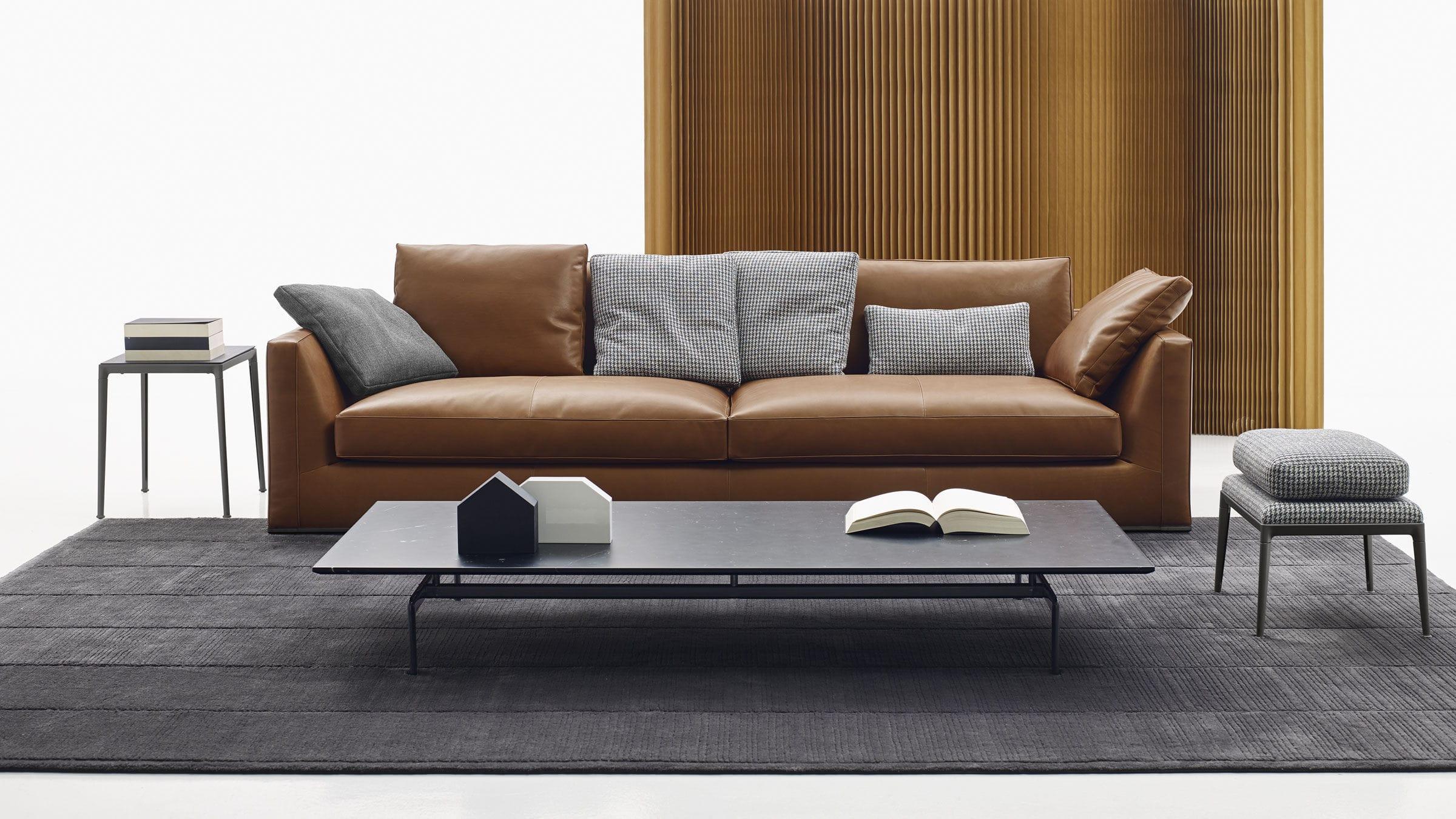 Sofa modern stoff  Modulierbares Sofa / modern / Leder / Stoff - RICHARD - B&B Italia