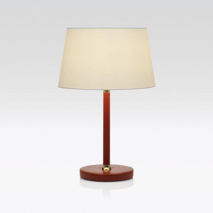 Tischlampe gezeichnet  Tischlampe / klassisch / Stoff / Leder - ELOISE - Giorgio Armani Casa