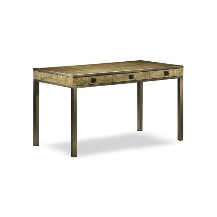 Leder-Schreibtisch / modern - AIDA - Giorgio Armani Casa