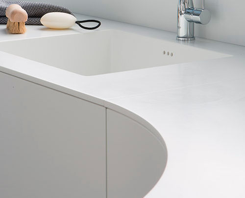 Corian Arbeitsplatte arbeitsplatte aus corian® / küchen - dupont™ - mobalpa