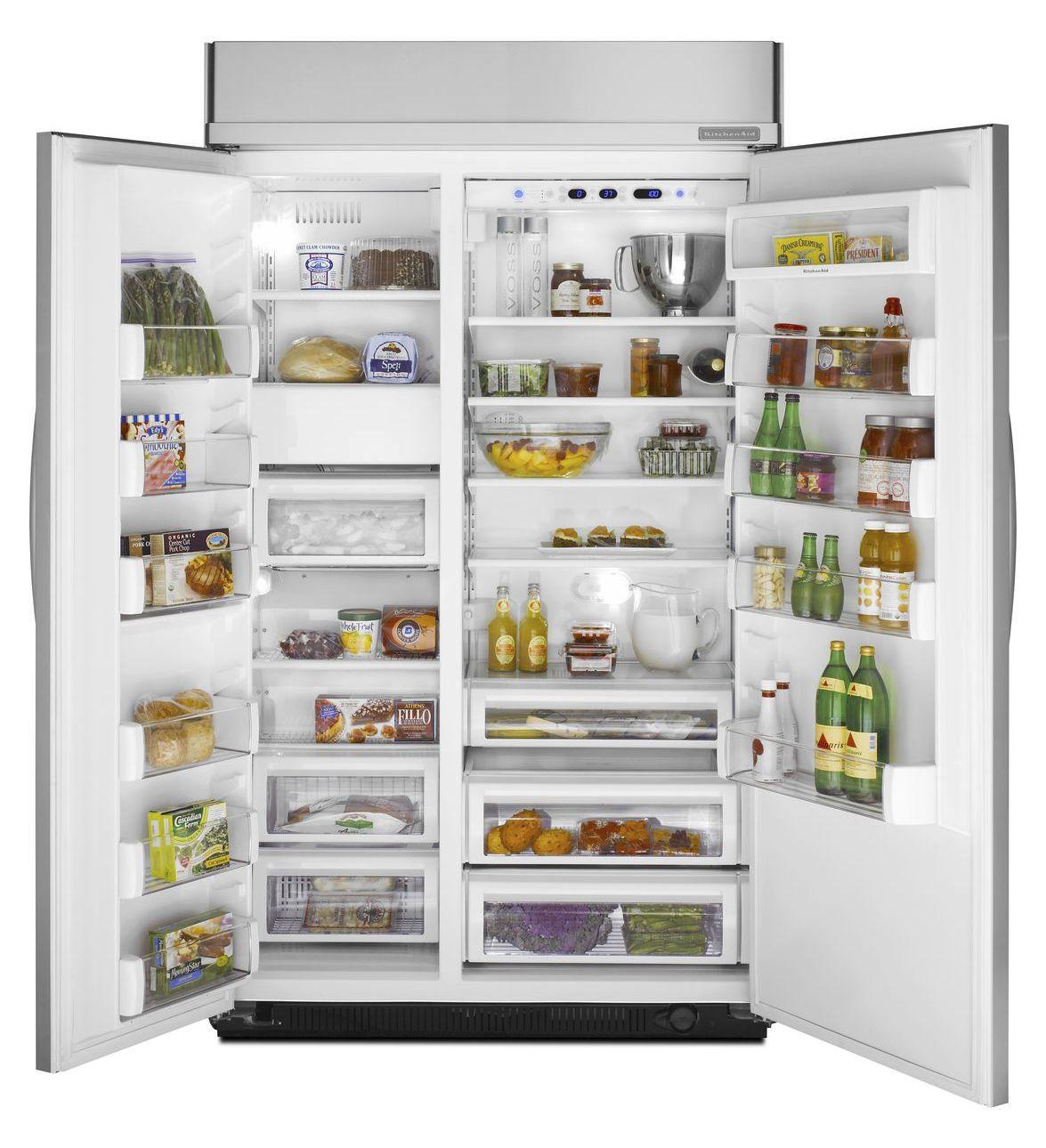 Kühlschrank Einbaufähig amerikanisch kühlschrank edelstahl einbau kssc48fts kitchenaid