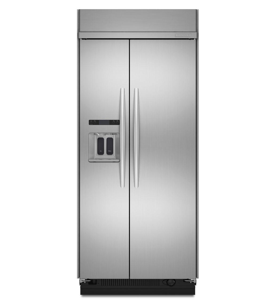 Amerikanisch-Kühlschrank / Edelstahl / mit Wasserspender ...