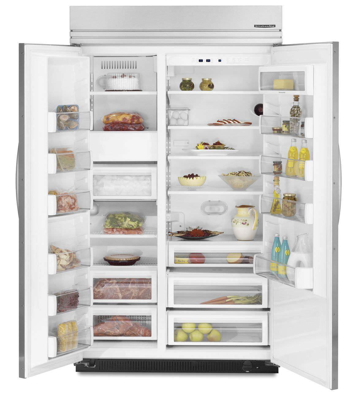 Kühlschrank Amerikanisch amerikanisch kühlschrank holz einbau ksso42ftx kitchenaid