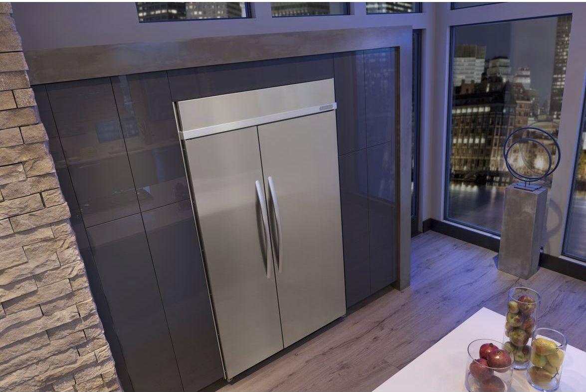 Einbau Kühlschrank Side By Side amerikanisch kühlschrank edelstahl einbau kssc48fts kitchenaid