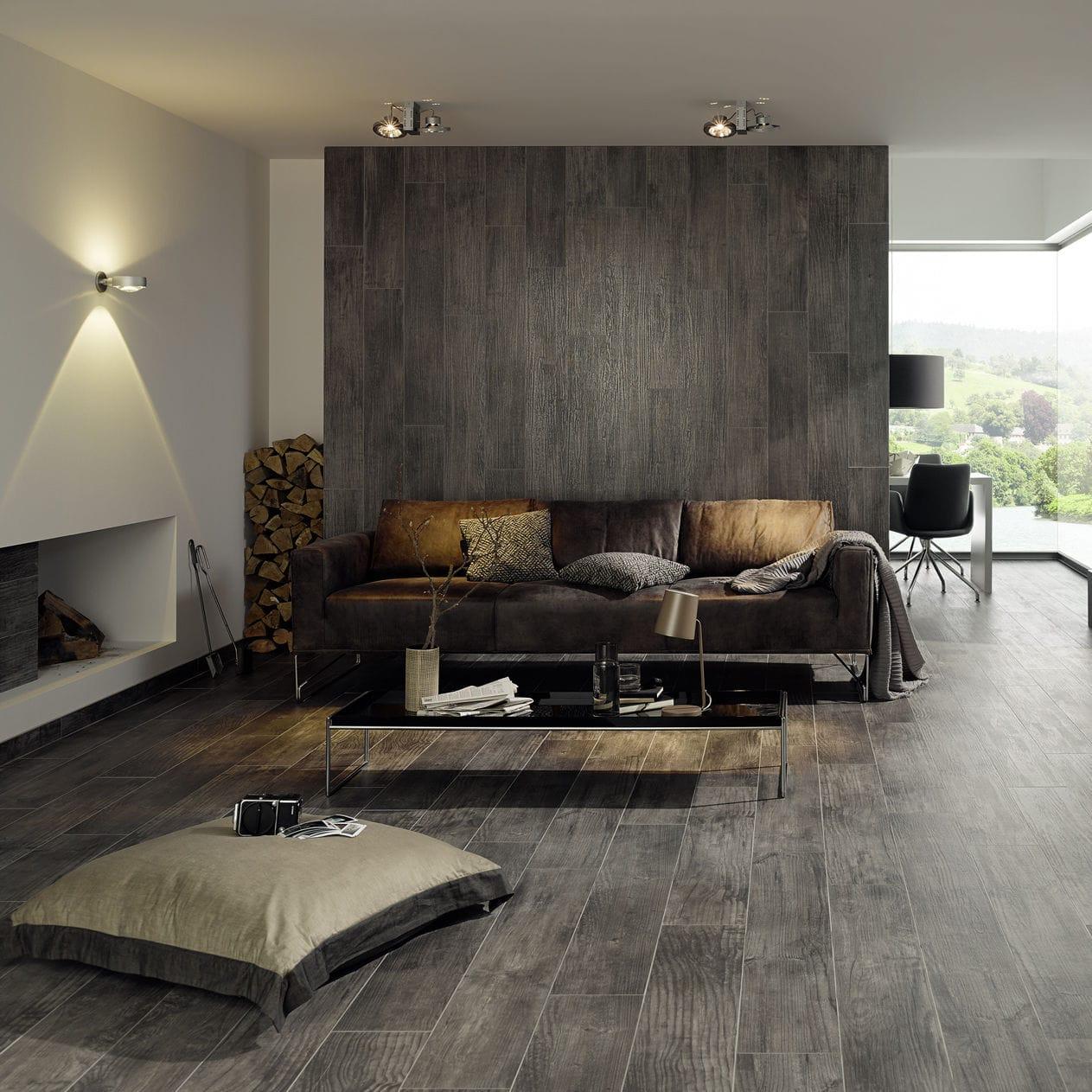 Innenbereich-Fliesen / Wohnzimmer / bodenstehend / für Wände ...