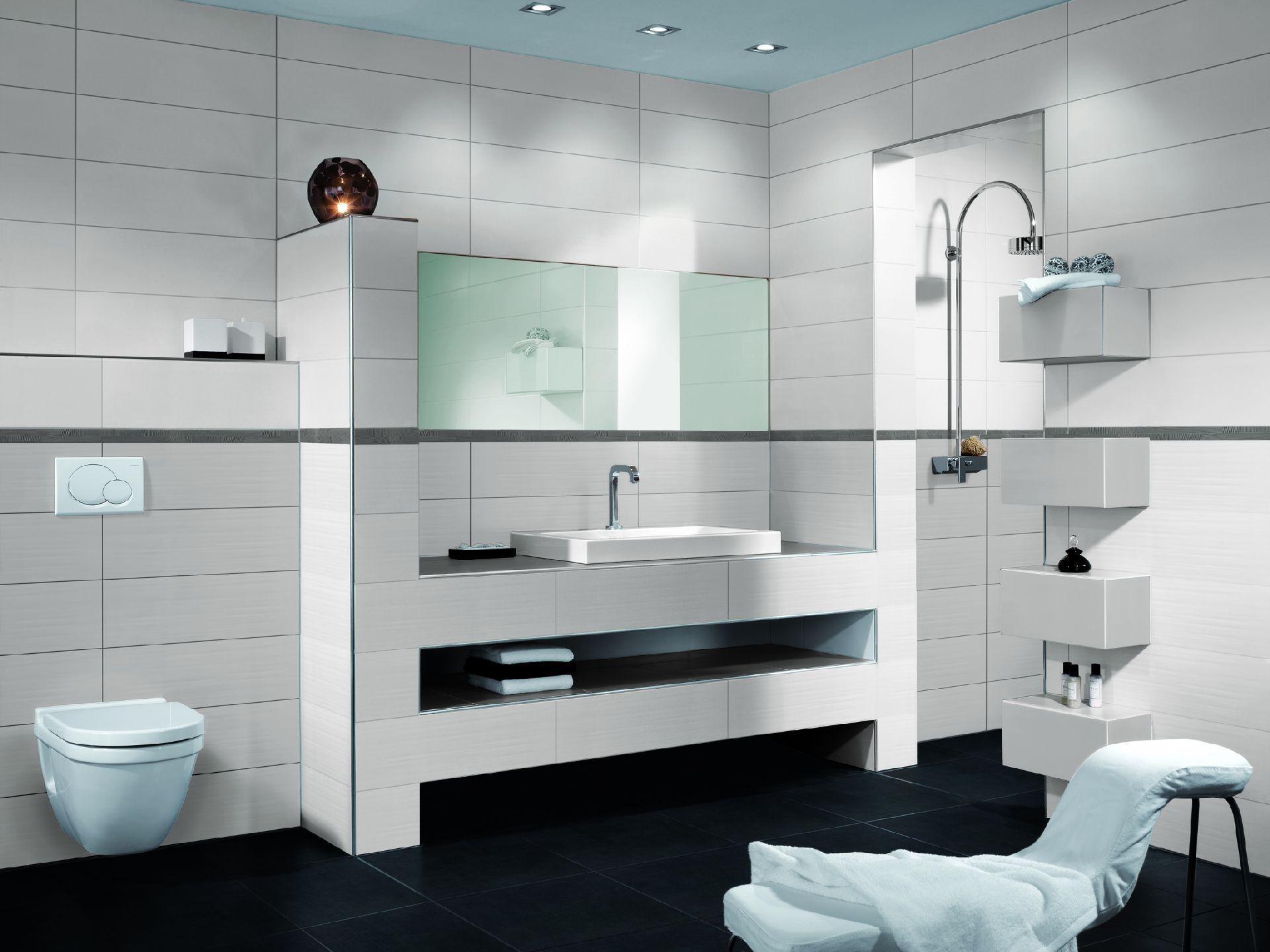 ... Innenbereich Fliesen / Für Badezimmer / Für Wände / Aus Sandstein PURE  WHITE Steuler  ...