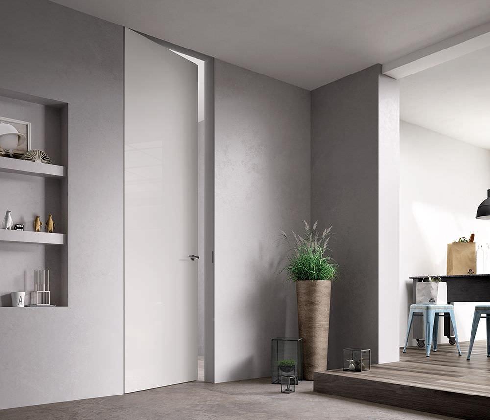 Innenbereich-Tür / einflügelig / Holz / raumhohe - EXIT LACCATA ...