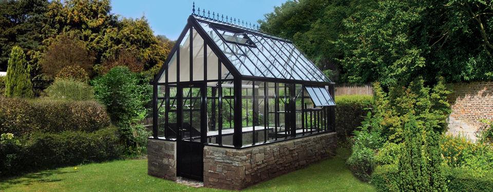 Gewächshaus Viktorianischer Stil aluminiumstruktur gewächshaus botanic