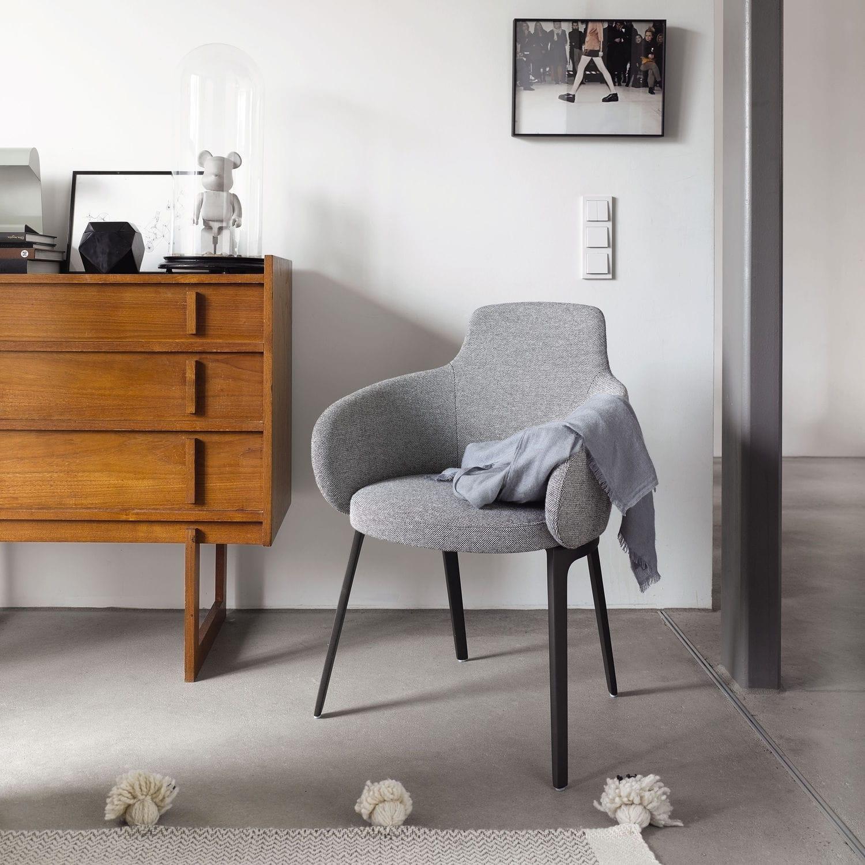 Elegant Polster Esszimmerstühle Dekoration Von Moderner Stuhl / / Mit Armlehnen /