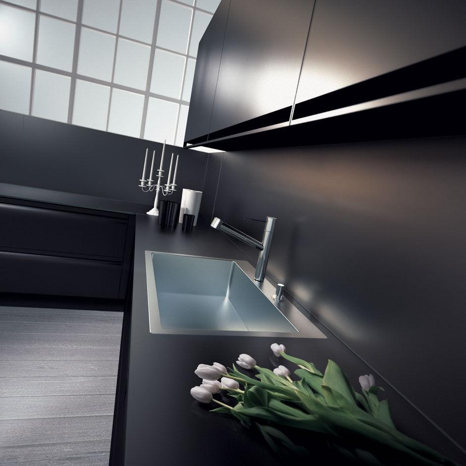 Moderne Küche / Holz / lackiert / matt - PLANA by Makio Hasuike ...