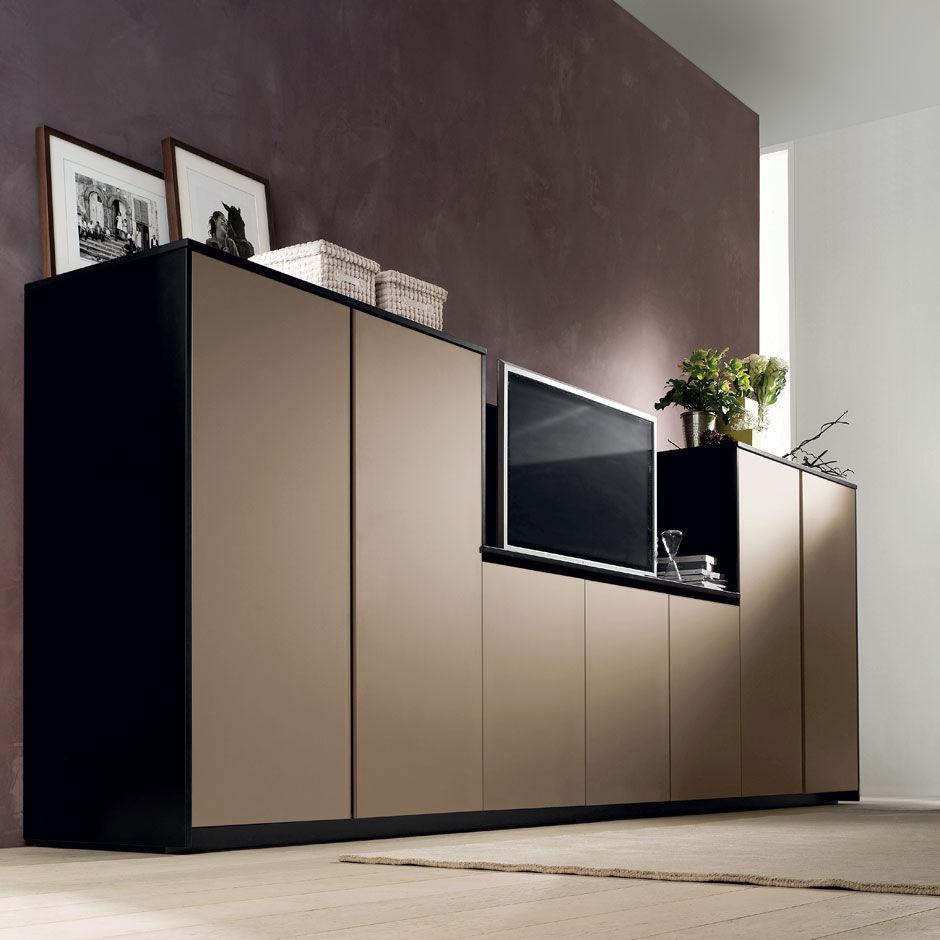 Moderne Küche / Holz / lackiert - CRETA FLUTE by Centro Ricerca e ...