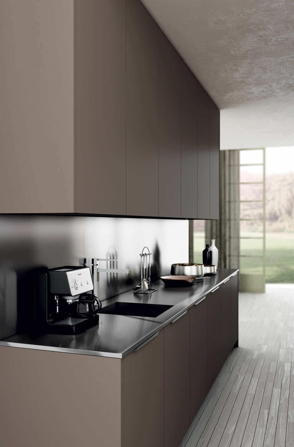 Moderne Küche Braun