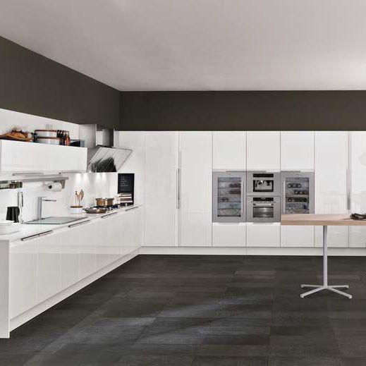 Moderne Küche / Laminat / U-Rohr / lackiert - CHANTAL by Alfredo ...