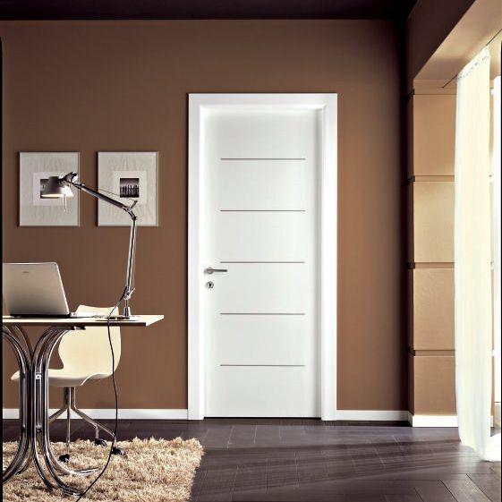Innenbereich-Tür / einflügelig / Holz / Aluminium - VENUS : 396 - GD ...
