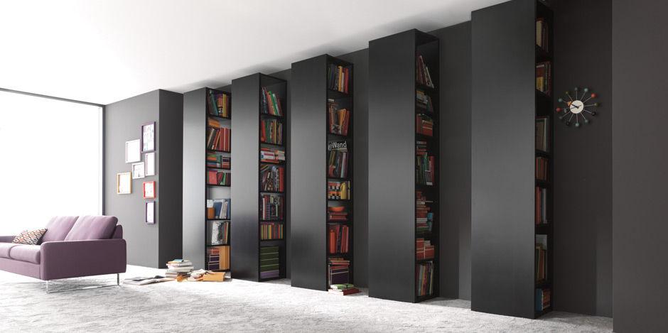 Moderne Bibliothek / lackiertes Holz - STUDIMO by Team Form Ag ...