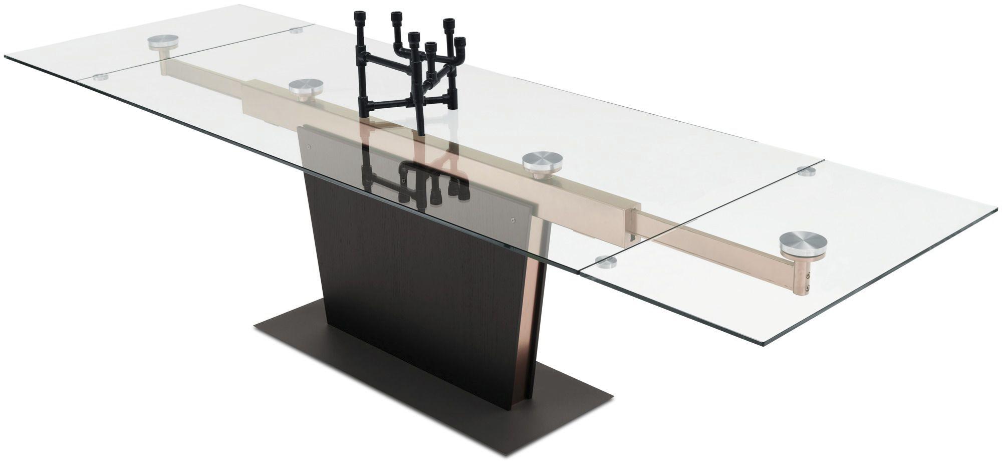 moderner esstisch glas aus mdf stahl - Boconcept Esstisch