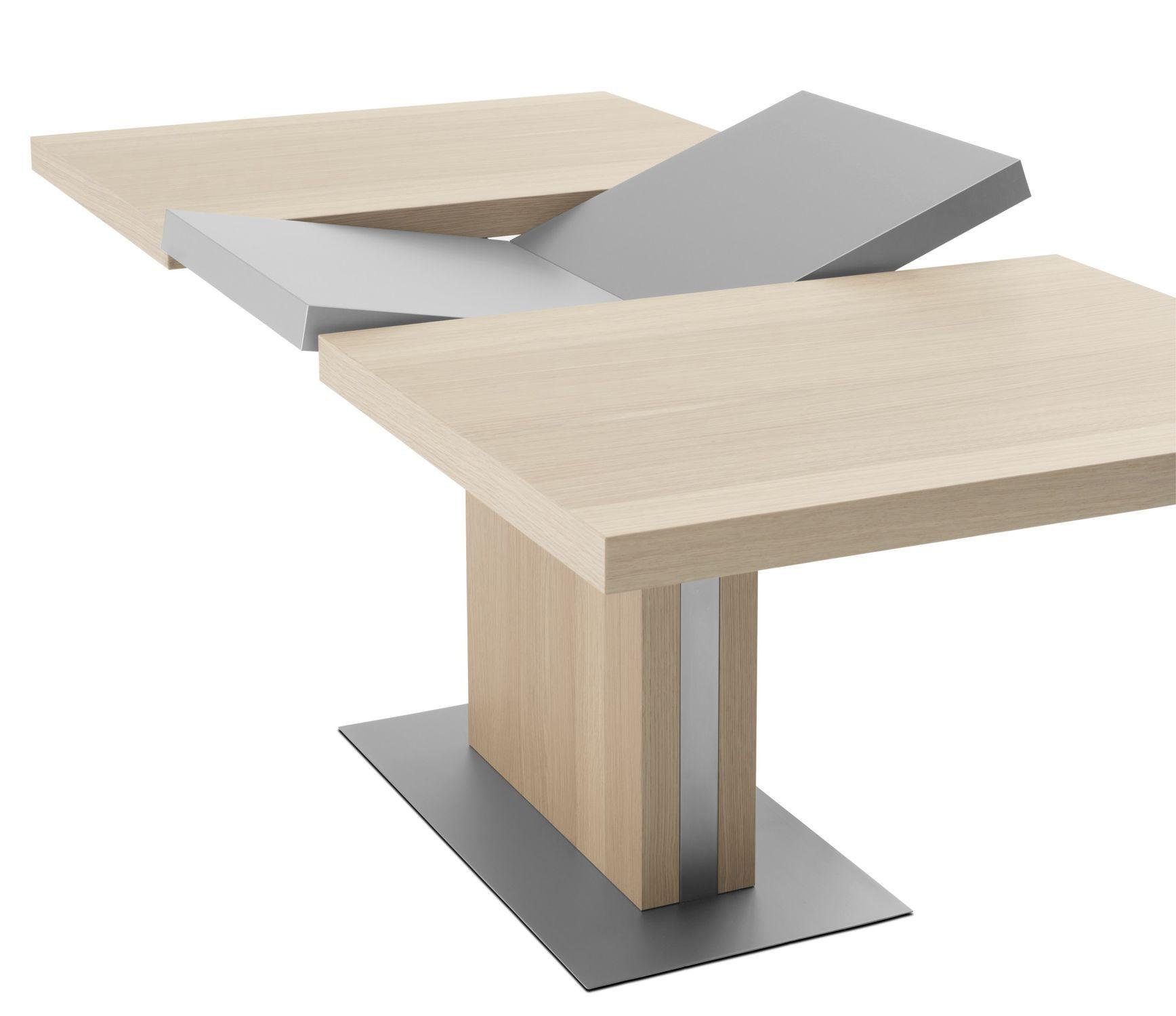 Moderner Esstisch Aus Mdf Stahl Rechteckig Bari Boconcept