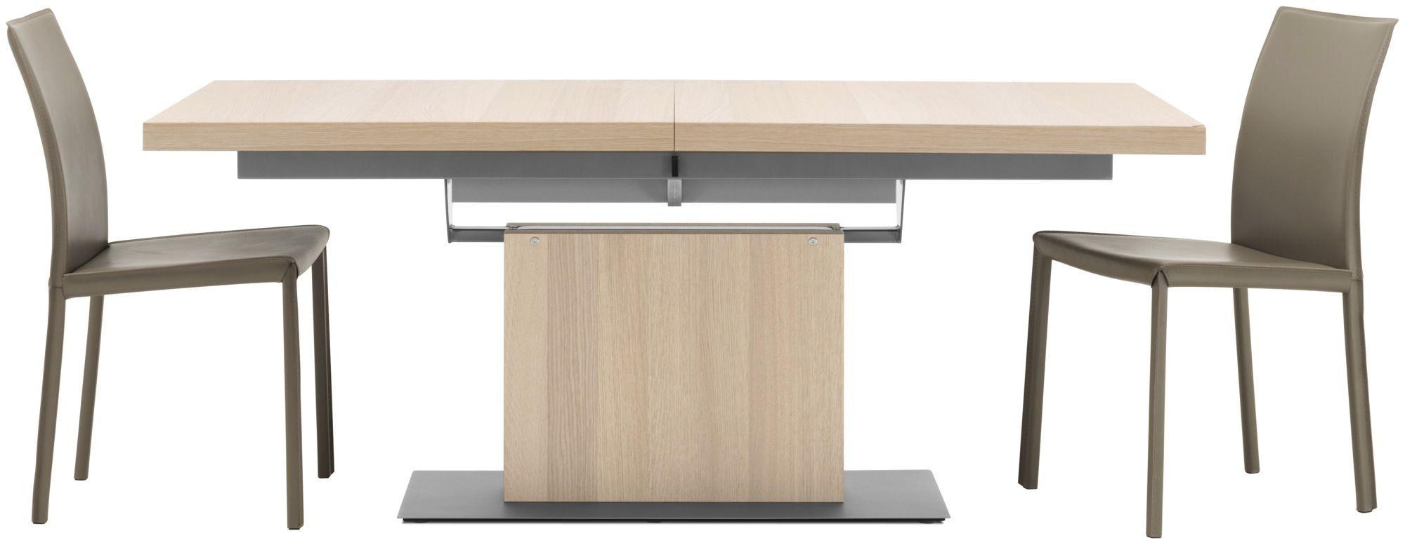 moderner esstisch aus mdf stahl rechteckig - Boconcept Esstisch