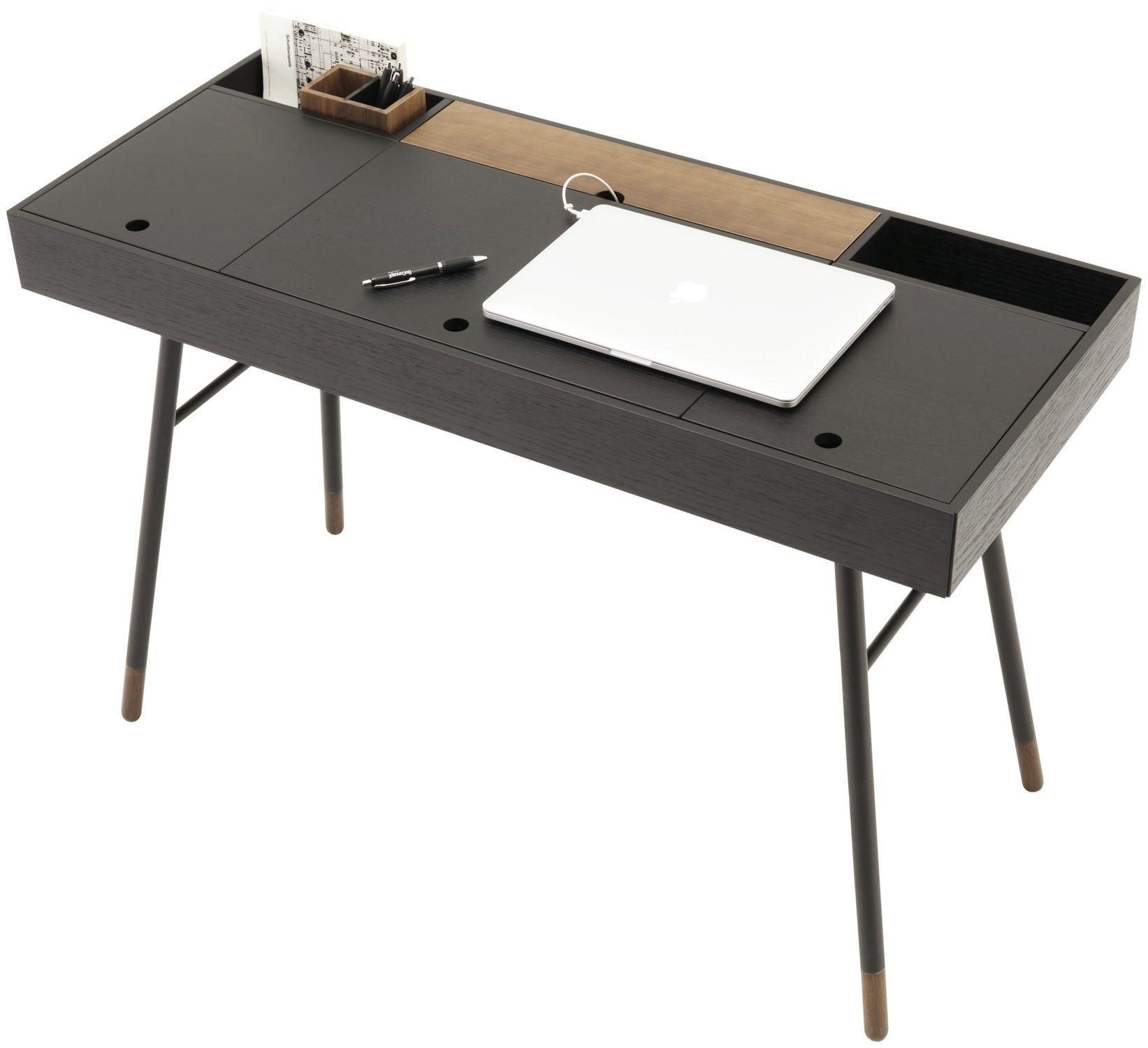 Schreibtisch modern  MDF-Schreibtisch / modern / integrierter Stauraum - CUPERLINO ...