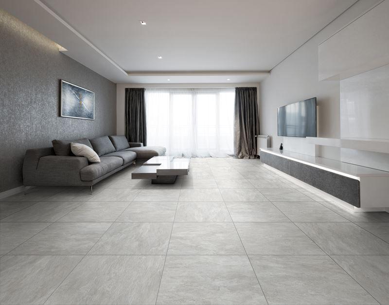 Fliesen Grau Wohnzimmer