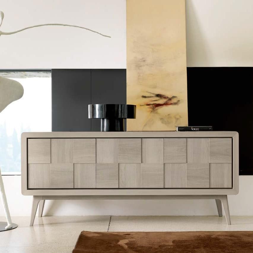 Modernes Sideboard Holz Grau A 630 Dale Italia