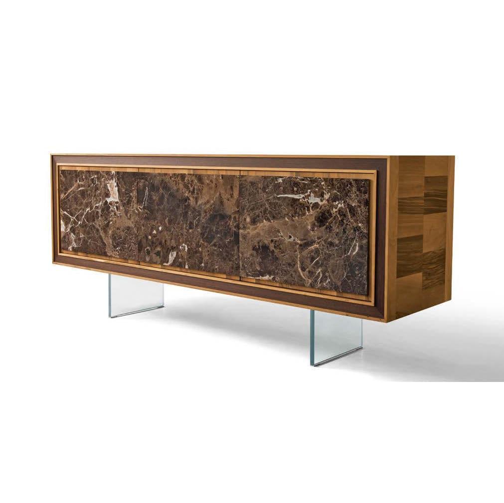 Sideboard holz  Hochbeinig-Sideboard / modern / Holz / braun - A-119 - Dale Italia