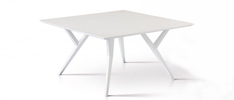 moderne tisch / beton / quadratisch / weiß - gio t|q - sai industry, Esszimmer dekoo
